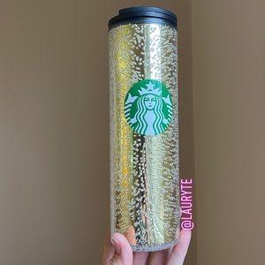 Starbucks 2020 Holiday Gold Sprite Bubble Bottle